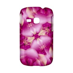 Beauty Pink Abstract Design Samsung Galaxy S6310 Hardshell Case