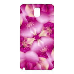 Beauty Pink Abstract Design Samsung Galaxy Note 3 N9005 Hardshell Back Case