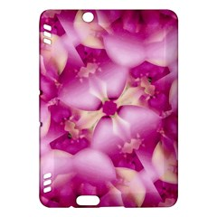 Beauty Pink Abstract Design Kindle Fire Hdx Hardshell Case