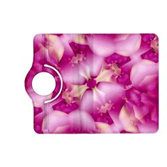 Beauty Pink Abstract Design Kindle Fire HD (2013) Flip 360 Case