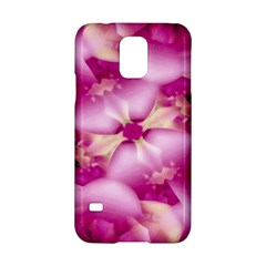 Beauty Pink Abstract Design Samsung Galaxy S5 Hardshell Case