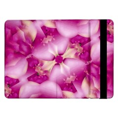 Beauty Pink Abstract Design Samsung Galaxy Tab Pro 12 2  Flip Case