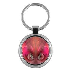 Hypnotized Key Chain (round)