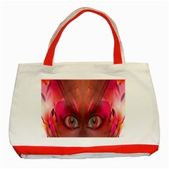 Hypnotized Classic Tote Bag (Red)