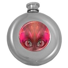 Hypnotized Hip Flask (round)