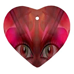 Hypnotized Heart Ornament (two Sides)