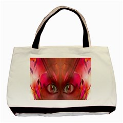 Hypnotized Twin-sided Black Tote Bag