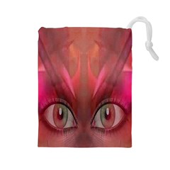 Hypnotized Drawstring Pouch (Large)