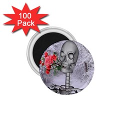 Looking Forward To Spring 1.75  Button Magnet (100 pack)