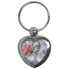 Looking Forward To Spring Key Chain (heart)