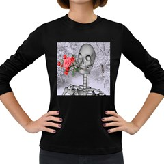 Looking Forward To Spring Women s Long Sleeve T-shirt (Dark Colored)