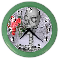 Looking Forward To Spring Wall Clock (Color)