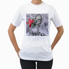 Looking Forward To Spring Women s T-Shirt (White)