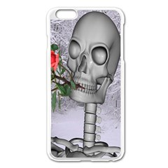 Looking Forward To Spring Apple iPhone 6 Plus Enamel White Case