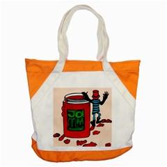 Jammy Dodger Accent Tote Bag