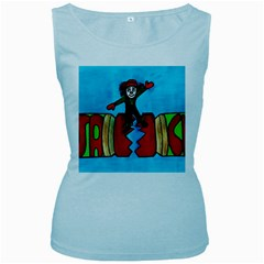 Picture 039 Women s Tank Top (Baby Blue)