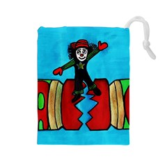 Picture 039 Drawstring Pouch (Large)