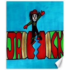 CRACKER JACK Canvas 20  x 24  (Unframed)
