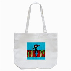 CRACKER JACK Tote Bag (White)