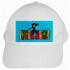 Cracker Jack White Baseball Cap