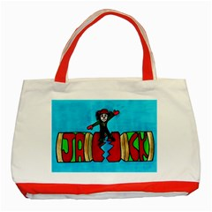 CRACKER JACK Classic Tote Bag (Red)