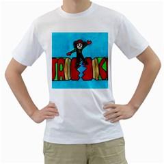 Cracker Jack Men s T Shirt (white)