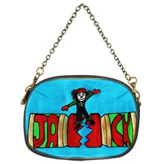Cracker Jack Chain Purse (two Sided)