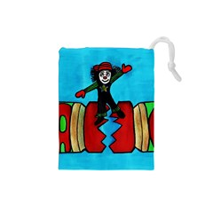 Cracker Jack Drawstring Pouch (small)