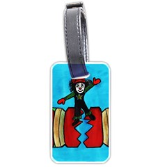 CRACKER JACK Luggage Tag (Two Sides)