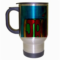 Cracker Jack Travel Mug (silver Gray)