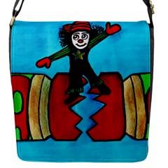 CRACKER JACK Flap Closure Messenger Bag (Small)