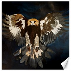 Golden Eagle Canvas 12  X 12  (unframed)