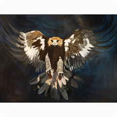 Golden Eagle Canvas 12  X 16  (unframed)