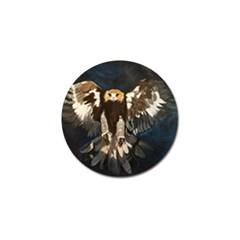 Golden Eagle Golf Ball Marker 4 Pack