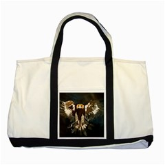 GOLDEN EAGLE Two Toned Tote Bag