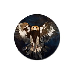 Golden Eagle Drink Coasters 4 Pack (round)