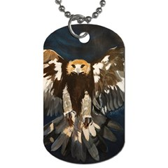 Golden Eagle Dog Tag (two Sided)