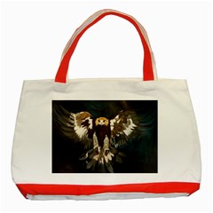 GOLDEN EAGLE Classic Tote Bag (Red)