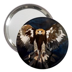 GOLDEN EAGLE 3  Handbag Mirror