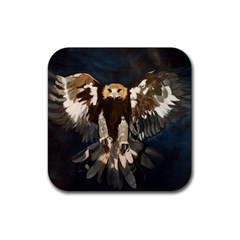 Golden Eagle Drink Coasters 4 Pack (square)