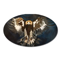Golden Eagle Magnet (oval)