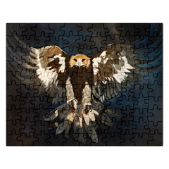 GOLDEN EAGLE Jigsaw Puzzle (Rectangle)