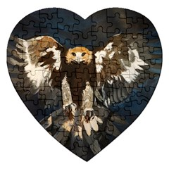 GOLDEN EAGLE Jigsaw Puzzle (Heart)