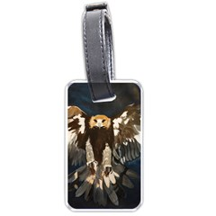 Golden Eagle Luggage Tag (two Sides)