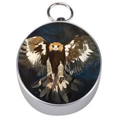 GOLDEN EAGLE Silver Compass
