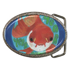 Year After Year Belt Buckle (oval)