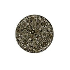 Steam Punk Pattern Print Golf Ball Marker 4 Pack (for Hat Clip)