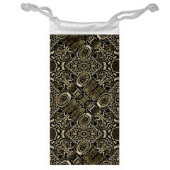 Steam Punk Pattern Print Jewelry Bag