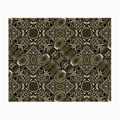Steam Punk Pattern Print Glasses Cloth (small, Two Sided)