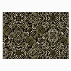 Steam Punk Pattern Print Glasses Cloth (large)